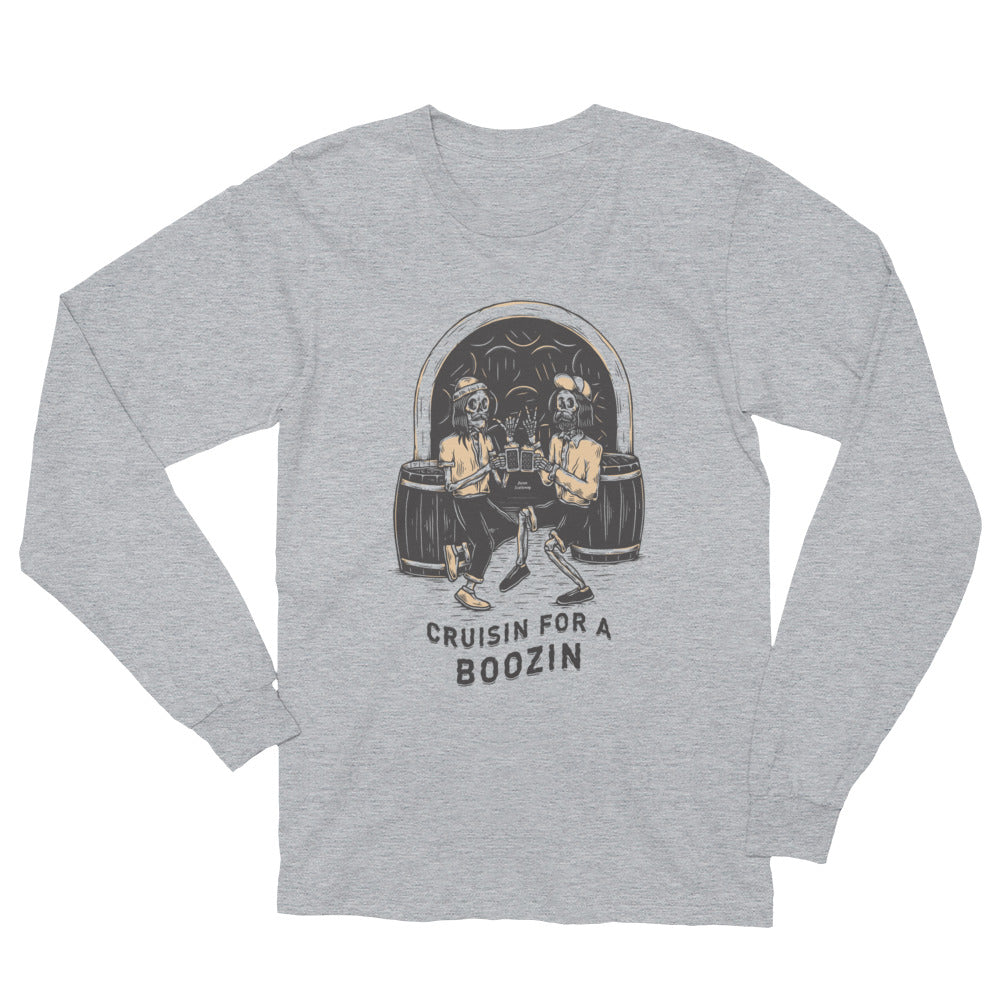 Bones Boozin Light Unisex Long Sleeve T-Shirt