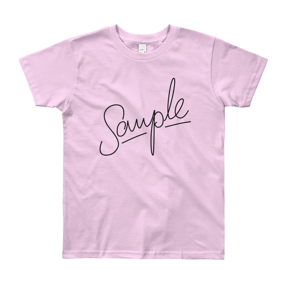 SAMPLE Light Youth Short Sleeve T-Shirt