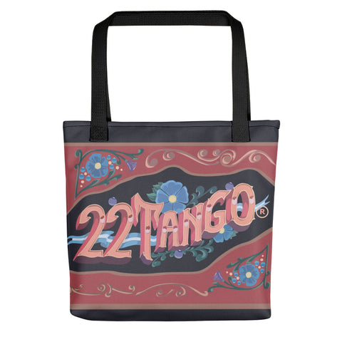 22TANGO®.  Fashioned.  In the Bag---Black