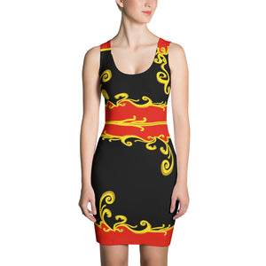 Celebration of Love Tank Dress---Royalty Black