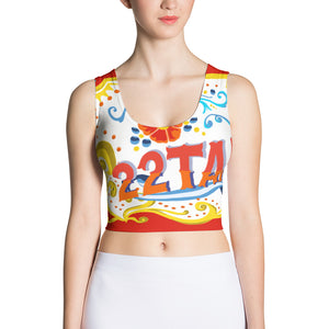 Celebration of Love Crop Top---White