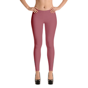 22TANGO®.  Fashioned.  La Flor Leggings---Tea Rose