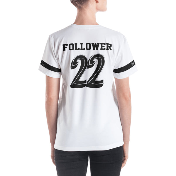 Return to Eden Women's Jersey---We're On the Same Team White