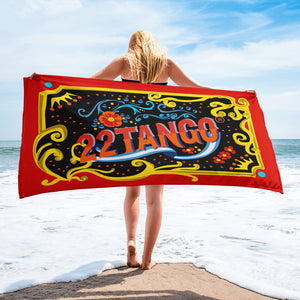 Celebration of Love Towel---Black