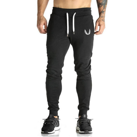 MEN'S GYM JOGGERS (BLACK/GREY)