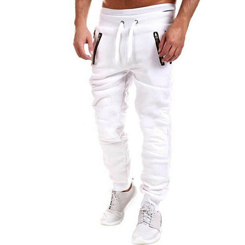 Mens Gym Joggers (Black/White/grey)
