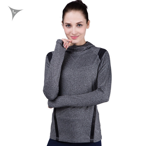 Premium Women's Training Hoodie (Grey)