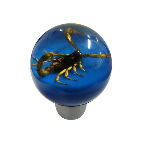 Scorpion Gear Knob Blue - Direct Automotive