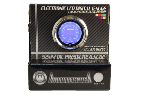 Oil Pressure Electronic LCD Digital Gauge (GLC0)