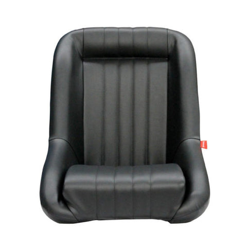 Classic Low Back PU Leather Seat ADR approved (Black)(included Universal Slider)