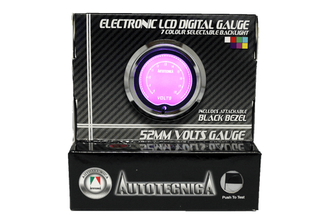 Volts Electronic LCD Digital Gauge (GLCV)