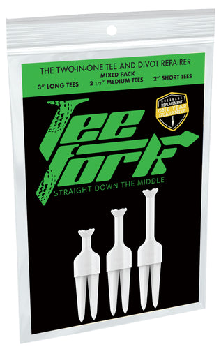Tee-Fork Mixed Bag (6 Pack)