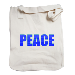 """Peace"" Organic Cotton Tote"