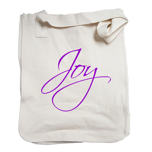 """Joy"" Organic Cotton Tote"