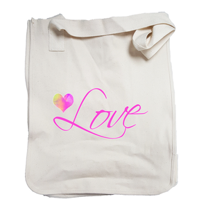 """Love"" Organic Cotton Tote"