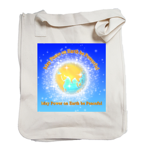 May Peace be Powerful Organic Tote