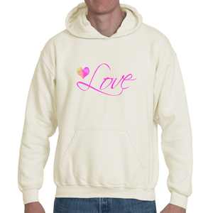 'Love' Organic Cotton Hoody