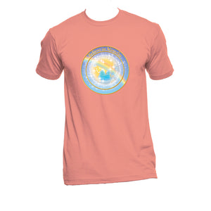 "Unisex Organic Cotton T-Shirt with ""Believe in Miracles"" Design"