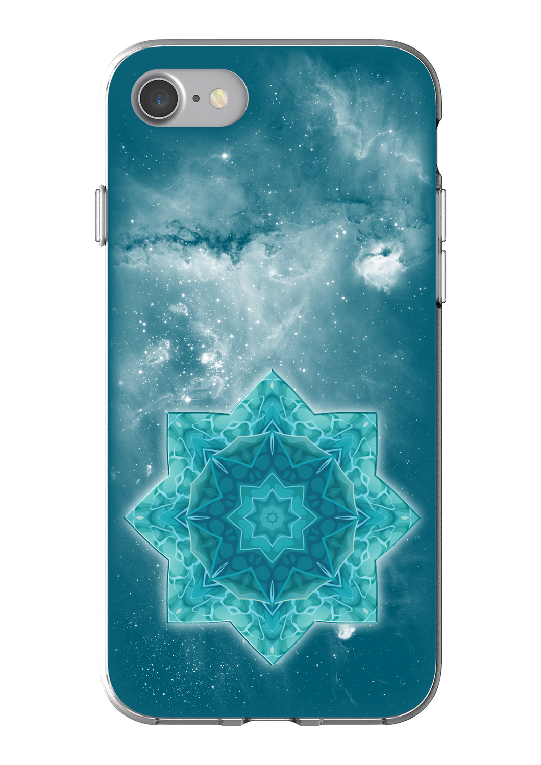 Blue Mandala Flexi Phone Case IP7