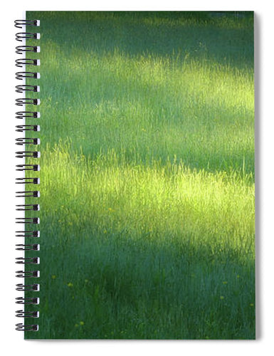 Early Morning Meadow - Spiral Notebook