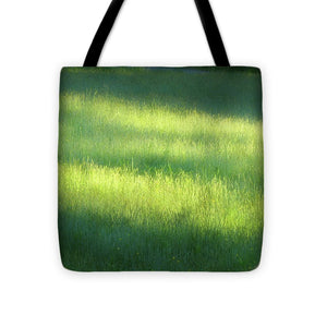 Early Morning Meadow - Tote Bag