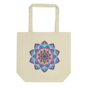 Blue Mandala Eco Tote Bag