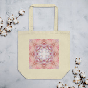 Peach Mandala Eco Tote Bag