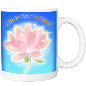 Mug with Life is Here to Enjoy Design