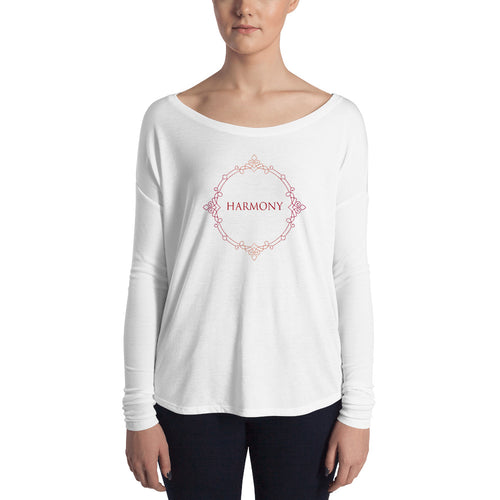 'Harmony' Ladies' Long Sleeve Tee