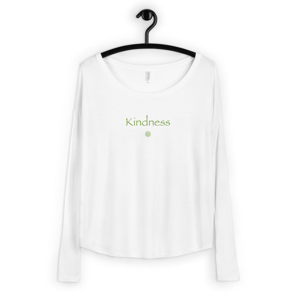 'Kindness' Ladies' Long Sleeve Tee
