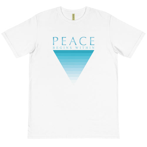 'Peace Begins Within' Organic T-Shirt