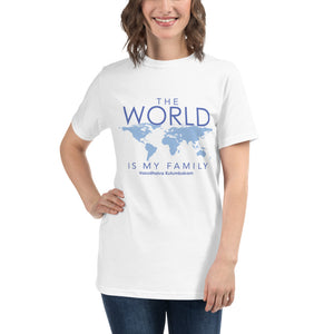 'The World is my Family' Organic T-Shirt
