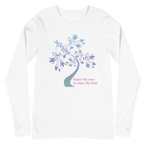 'Water the Root' Unisex Long Sleeve Tee