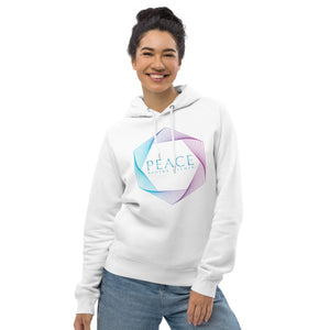 'Peace Begins Within' Unisex Organic pullover hoodie