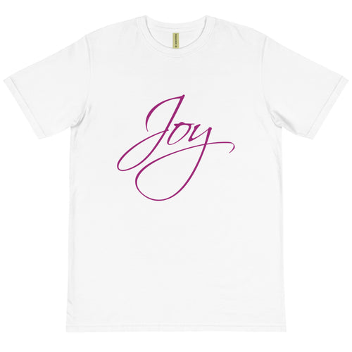 'Joy' Organic Cotton Unisex T-Shirt