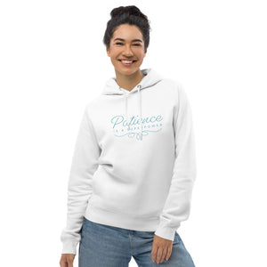 'Patience is a Superpower' Unisex pullover hoodie