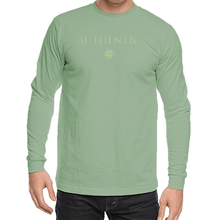 'Authentic' Unisex Organic Cotton Long Sleeve