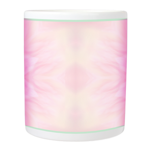 Mug with Peonie Mandala Design