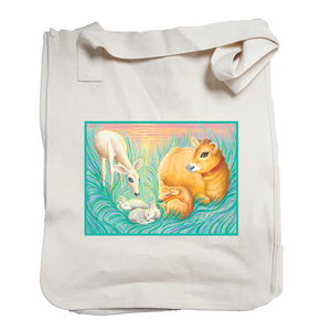 Priya and Deer Organic Cotton Tote