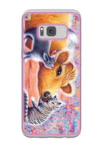 Priya and Cats design Samsung Galaxy S8 Flexi Case