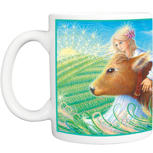 Mug with Priya and Katherine Design