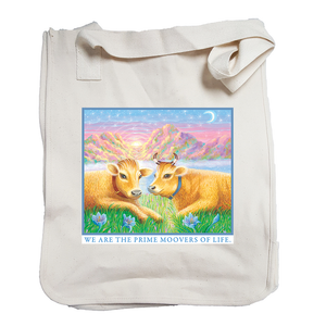 """Prime Moovers"" Organic Cotton Tote"