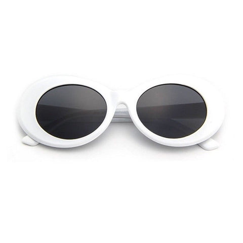 Kurt Cobain Clout Goggles Sunglasses Rapper Oval Shades Grunge Unisex Glasses