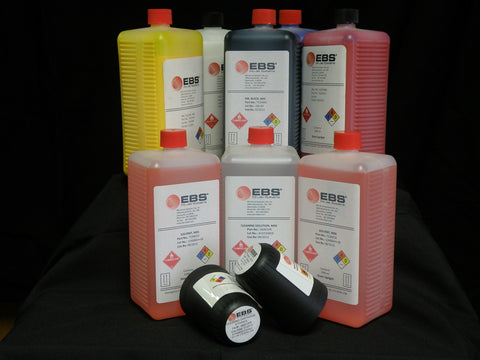 EBS-250 Black UV Resistant Ink, MEK, Pigmented