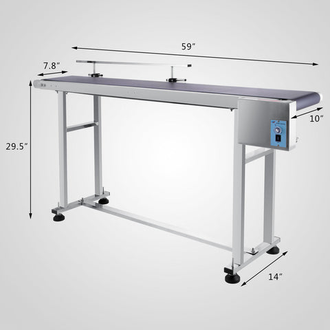 Inkjet Coding Conveyor - Single Guide Rail