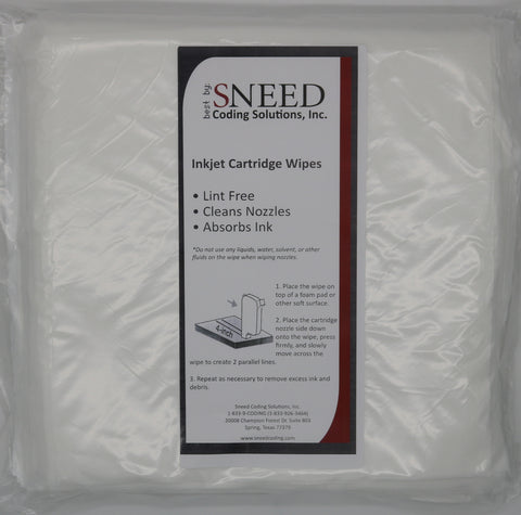 Sneed Coding Thermal Inkjet Wipes