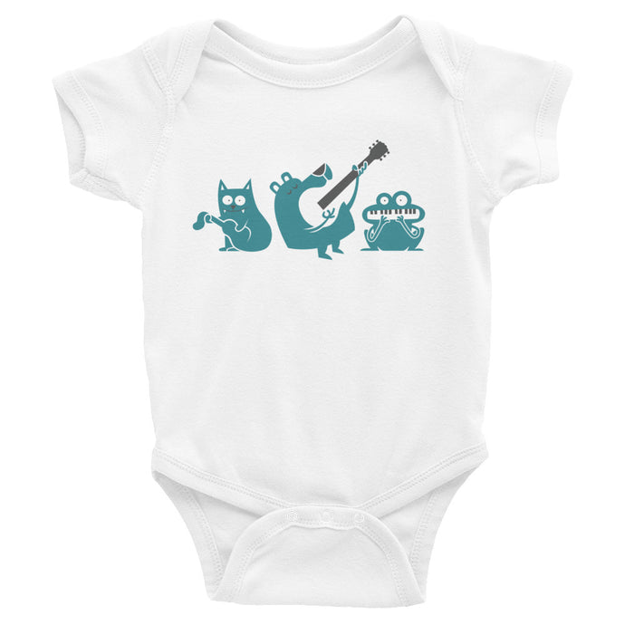 Chordify Musical Trio Infant Bodysuit