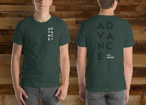 "All Serve 2018 ""Advance"" Tee"