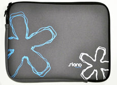 "Funda SIGNO Netbook 10"" Estampada Grey-Blue Neoprene"