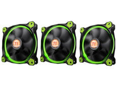 Cooler THERMALTAKE RIING 12 LED 120mm Pack x 3